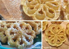 Jednoduchá Rosette Cookie recept