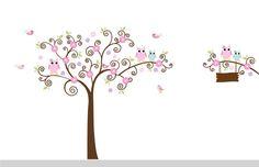 Nursery Wall Decals Girl Nursery Tree and Branch by NurseryWallArt, $99.99