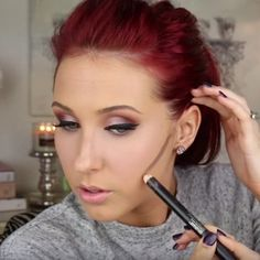 15 Outstanding Tutorials That Show You How To Contour: Best Cream Contour: Jaclyn Hill (Beauty Nails How To Contour) Love Makeup, Makeup Tips, Makeup Looks, Makeup Tutorials, Makeup Ideas, All Things Beauty, Beauty Make Up, Hair Beauty, Beauty Secrets
