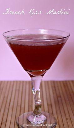 french kiss martini | www.confessionsofacookingdiva.com