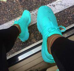 Sportsshoes neon running shoes, neon shoes, cute shoes, me too shoes, mint shoe Hype Shoes, Women's Shoes, Me Too Shoes, Shoe Boots, Shoes Style, Shoes For Men, Casual Shoes, Shoe Bag, Cute Sneakers