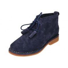 9d59602228c3 Hush Puppies Cyra Catelyn Lace Up Real Suede Leather Desert Boots. Jenny  Wren Footwear