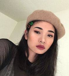 - ̗̀ saith my he A rt ̖́- Korean Makeup Look, Beauty Stuff, Asian Style, Makeup Inspo, Pretty Girls, Makeup Looks, Drawers, Hair Accessories, Make Up
