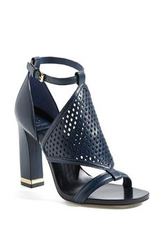 """I would be dying for these if they had a 3"""" heel... 4"""" is just too high for me for everyday wear. Tory Burch 'Doris' Sandal available at #Nordstrom $325"""