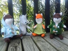 Merry foxmas! Toys for the littlies
