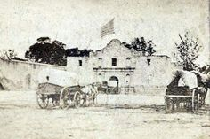 1868 :  ARMY  QUARTERMASTER'S  DEPOT The U.S. Army took possession of the Alamo in 1847, and after repairs were made to the church it became...