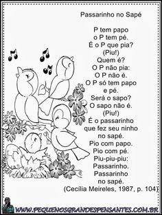 Jardim da Tia Di♥: Poemas infantis