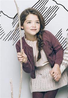 1502: Modell 20 Skjørt #alpakka #strikk #knit