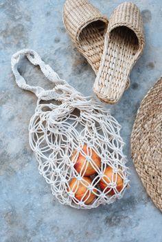 DIY Macrame Rope Bag | Pinterest: Natalia Escaño