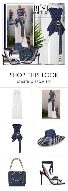 """""""Simple Glamour~"""" by rj-cupcake ❤ liked on Polyvore featuring Carolina Herrera, Armani Jeans, Yuzefi and Tory Burch"""