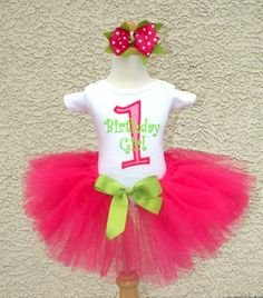 0283361e97 baby girl first birthday party | Girls 1st Birthday Creamsicle Pink and Chocolate  Polka Dot Tutu Set | My Style | 1st birthday onesie, 2nd birthday outfit,  ...