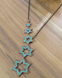 tasarim – # jewelry tasar - new season bijouterie Seed Bead Necklace, Seed Bead Jewelry, Bead Jewellery, Beaded Earrings, Fine Jewelry, Beaded Bracelets, Jewelry Necklaces, Jewelry Findings, Jewelry Making