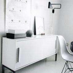 Via Kenziepoo | White | Eames | HAY | IKEA