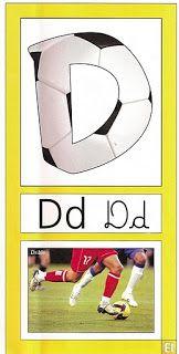 Oh my Alfabetos!: Alfabeto Inspirado en el Fútbol.