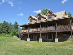 Newly Built Chalet w/top Quality Furnishings, Pond and Beautiful Valley Views.Vacation Rental in Ellicottville from @homeaway! #vacation #rental #travel #homeaway