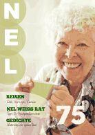 Die liebe Nel wird 75! Wir setzen ihr ein kleines Denkmal - mit einer eigenen Zeitschrift nur über sie! Ein ganz persönliches Geburtstagsgeschenk #DIY www.jilster.de