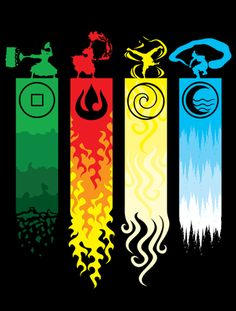 Earth, Fire, Air and Water (Avatar)