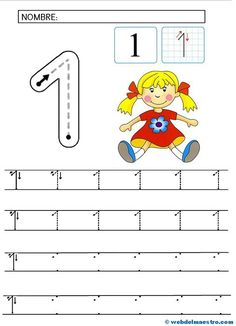 El 1- preescritura. Preschool Writing, Free Preschool, Preschool Crafts, Toddler Learning Activities, Preschool Activities, Kids Learning, Abc Crafts, Kindergarten Math Worksheets, Math For Kids