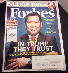 FORBES MAGAZINE March 28, 2017 BILLIONAIRES Meet the World's 36 Mini-Trumps NEW