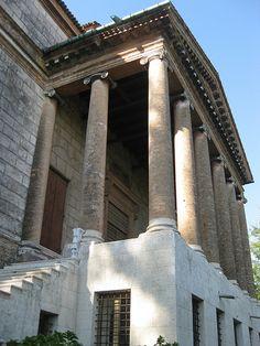 """Columns of Villa Foscari (""""La Malcontenta""""). Dynamic Architecture, Classic Architecture, Architecture Details, Andrea Palladio, Manor Houses, Beautiful Buildings, Columns, Building Design, Old World"""