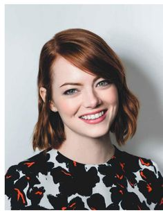 Emma Stone #EmmaStone Psychologies Magazine UK April 2017 Issue Celebstills E Emma Stone