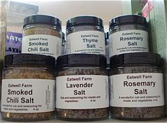 Flavored Salts and Sugars | Eatwell Farm Flavored Salts and Sugars | Eatwell Farm…Food for the Body and Soul
