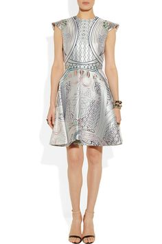 Mary Katrantzou | Babelona jacquard dress