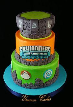 skylander cake images | Skylanders - by RobinYummCakes @ CakesDecor.com - cake decorating ...
