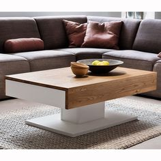 Matteo Wooden Storage Coffee Table In Oak And Matt White With 2 Drawers Will look extraordinary in your living room Features: •Matteo Wooden Coffee Table In Oak And Matt White With 2 Drawers &...