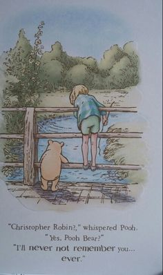 my favorite Pooh story.and this my favorite Pooh sentiment Winne The Pooh, Cute Winnie The Pooh, Winnie The Pooh Quotes, Winnie The Pooh Friends, Sweet Quotes, Cute Quotes, Eeyore, Tigger, Christopher Robin Quotes