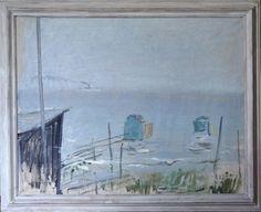 Maleri. 90 x 115,5 cm. Olie på lærred. <br /><br />(3990)