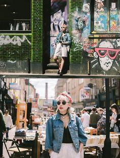 Kenny Cheng - Acne Studios Denim Jacket, Forever 21 Sunglasses, Zara Shoes - B R I C K  L A N E