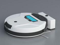 The Tesla robot vacuum operates almost