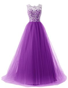 Dressystar Straps Bridesmaid Dresses Prom Gowns with Buttons on Back Size 10 Purple
