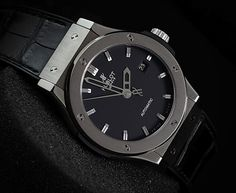 Hublot Classic Fusion 42mm in Titanium (PREOWNED - ORIGINAL)  WE ARE BASED AT JAKARTA please contact us for any inquiry : whatsapp : +6285723925777 blackberry pin : 2bf5e6b9  #WATCH #WATCHES #LUXURY #LUXURYWATCH #HUBLOT