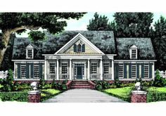 Allentown - Home Plans and House Plans by Frank Betz 2300 sq ftAssociates