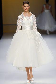 Vestidos de novia vintage para invierno ~ Todo Novias
