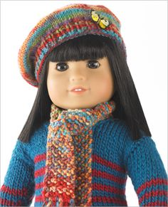 Free crochet doll clothes patterns - Knitting too.... very cute!