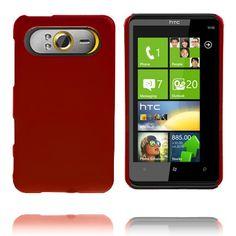 Hard Shell (Rød) HTC HD7 Deksel