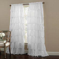 Un pannello Trattamento finestra Moderno , Tinta unita Salotto Tessuto sintetico Materiale Sheer Curtains Shades Decorazioni per la casa del 1354953 2017 a €14.89