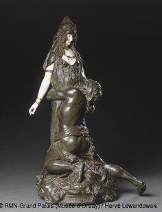 Théodore Rivière ,Salammbô chez Mathô,© RMN-Grand Palais (Musée d'Orsay) / Hervé Lewandowski