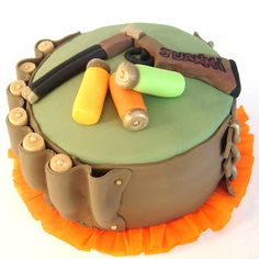 Hunting Cakes, Hunting Birthday Cakes, Hunting Party, Bakery Cakes, Cakes For Boys, Relleno, Cake Ideas, Tattoos, Canvas