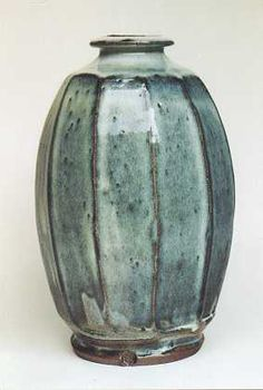 Ceramics by Mike Dodd at Studiopotterycouk - Cut Bottle Vase - high silica wood ash glaze over devonian red clay slip click now for more info. Pottery Plates, Ceramic Pottery, Pottery Art, Pottery Ideas, Ceramic Jars, Glass Ceramic, Slab Ceramics, Wood Ash, Clay Vase