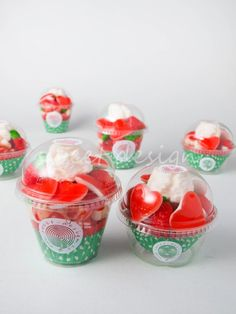 Candy Party Favors, Cupcakes, Candy Bouquet, Candy Shop, Jingle Bells, Jello, Party Time, Strawberry, Fruit