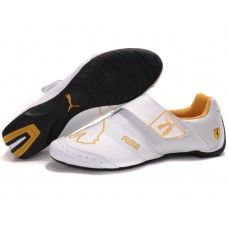 8b09fce0790 Find Mens Puma Baylee Future Cat Ii White Golden Shoes Lastest online or in  Pumaslides. Shop Top Brands and the latest styles Mens Puma Baylee Future  Cat Ii ...