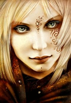 Fantasy Art. I don't know what about this appeals to me, but it gives me a type of a sort of an idea for another character.
