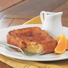 Brule'ed Orange French Toast. Can someone make me this for breakfast? Please & Thank you! ;)