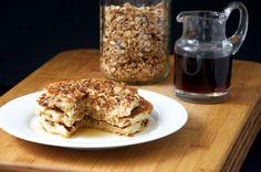 Granola Yogurt Pancakes Recipe