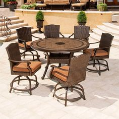 Brentwood Outdoor Dining Set   7 Pc.