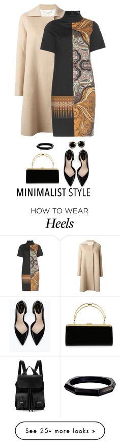 """Minimalist Style"" by terry-tlc on Polyvore featuring moda, Aspinal of London, MANTU, Etro, Zara, Balmain, Monique Péan, Kate Spade e Minimaliststyle"